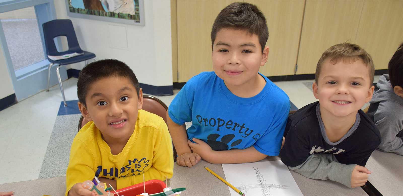 Reading Buddies Build Successful Bridges Together
